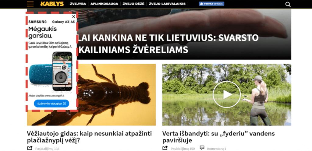 Samsung (Agentūra: UAB VRS WPI Vilnius)